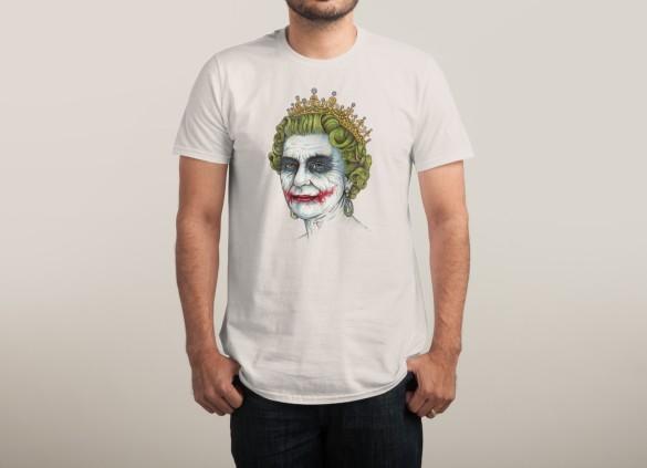 GOD SAVE THE VILLAIN! T-shirt Design by Enkel Dika man