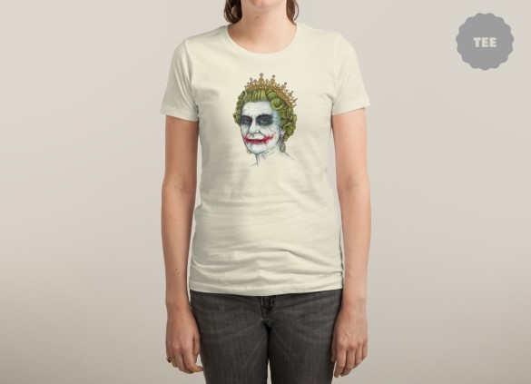 GOD SAVE THE VILLAIN! T-shirt Design by Enkel Dika woman