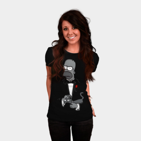 The Father T-shirt Design by Melonseta woman tee