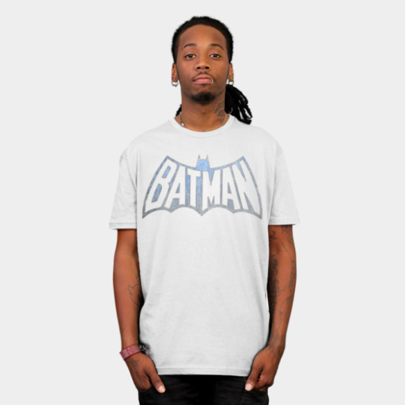 Vintage Batman Logo man