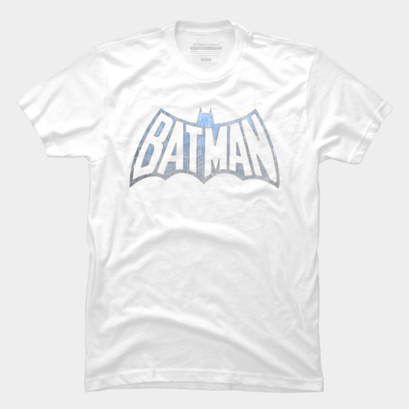 Vintage Batman Logo tee
