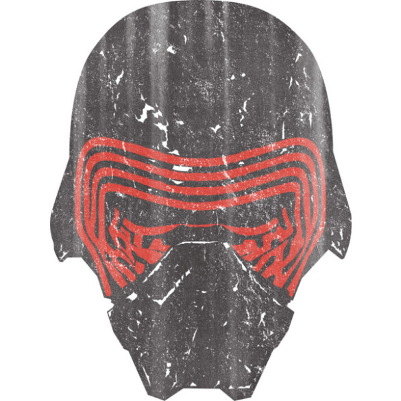 Star Wars The Force Awakens Kylo Ren Mask design tee