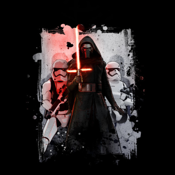 Star Wars The Force Awakens Officially Licensed Apparel  T-shirt Design