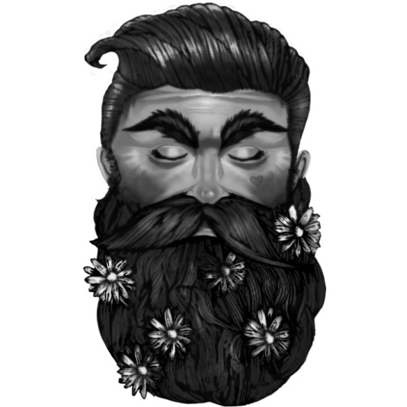 A Beautiful Beard design