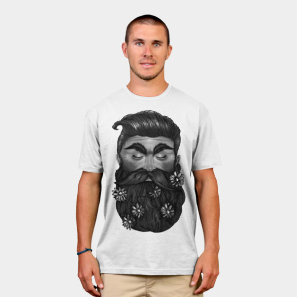 A Beautiful Beard man t-shirt