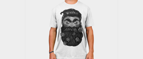 A Beautiful Beard man t-shirt main image