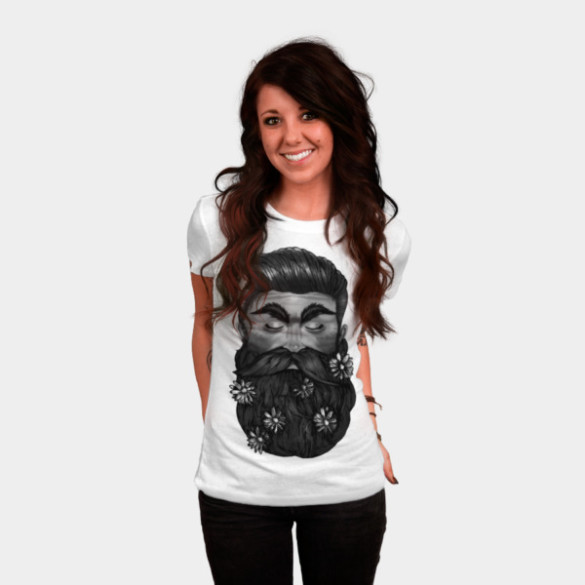 A Beautiful Beard woman tee
