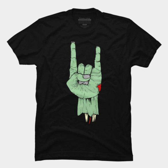 Evill Hand T-shirt Design by jackbh