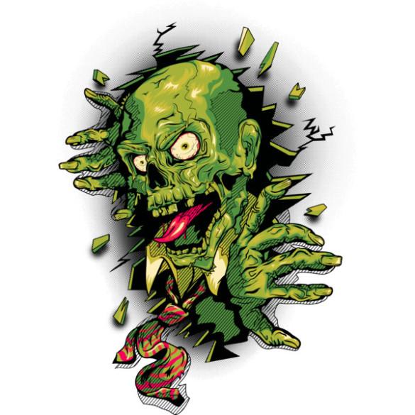 It's Toxic! T-shirt Design by vincentrogel design