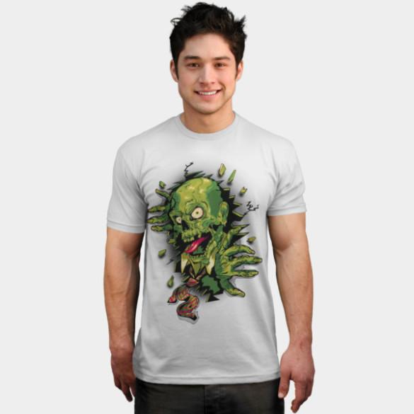 It's Toxic! T-shirt Design by vincentrogel man design