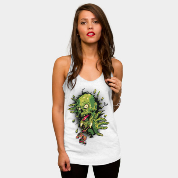 It's Toxic! T-shirt Design by vincentrogel woman t-shirt