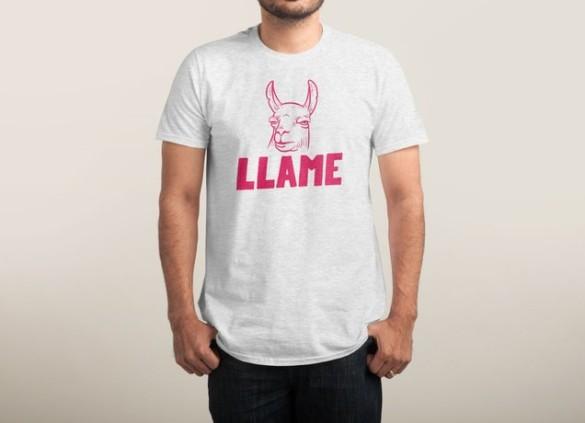 LLAME T-shirt Design by Mathijs Vissers man tee