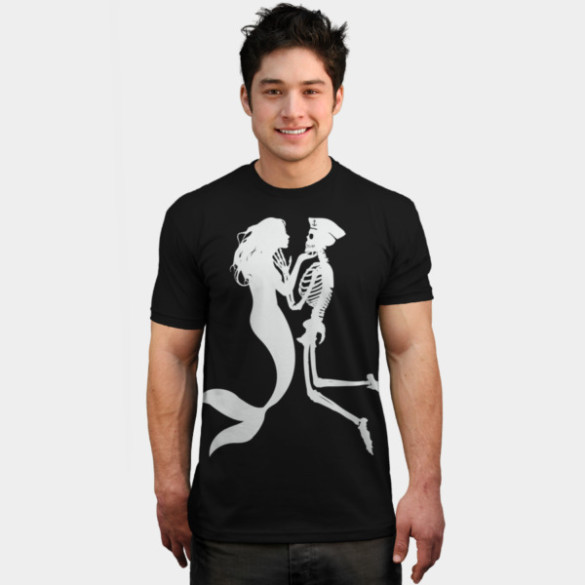 Lethal Love T-shirt Design by radiomode man tee