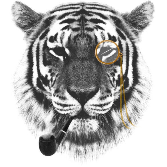 Mr. Tiger T-shirt Design by chetan design
