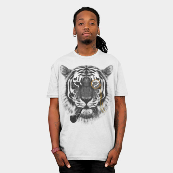 Mr. Tiger T-shirt Design by chetan man tee
