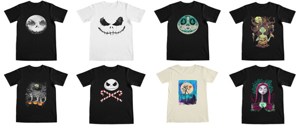 Tim Burton's The Nightmare Before Christmas! (T-shirts for Halloween)