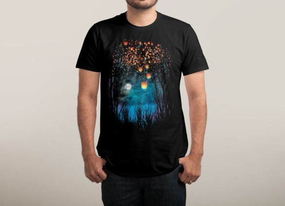 HOPE IN THE SKY Design by Angela Tarantula man tee