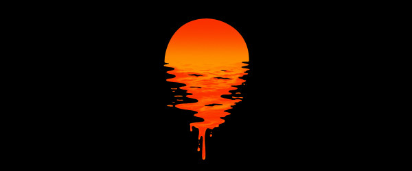 SUNSET 6 T-shirt Design by Ivan Rodero design main design
