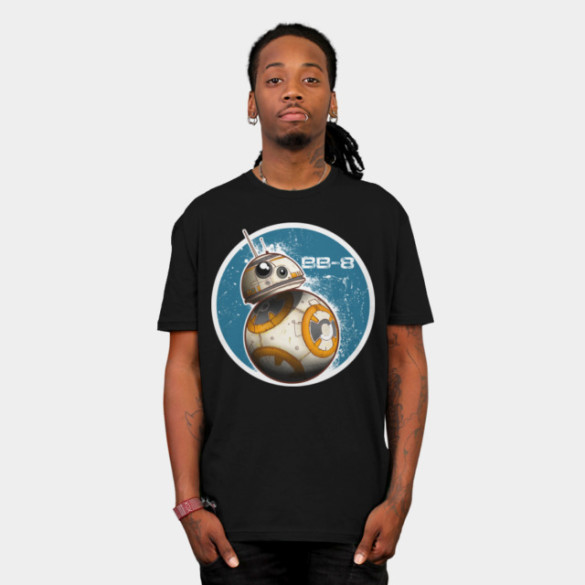 BB-8 On The Move T-shirt Design from StarWars ,am tee