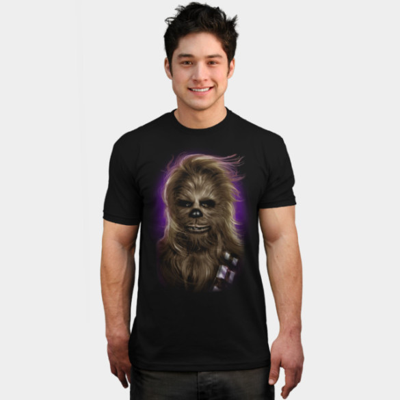 Chewbacca's Glamor Shot T-shirt Design by StarWars man