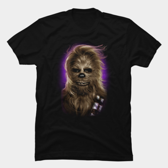 Chewbacca's Glamor Shot T-shirt Design by StarWars t-shirt
