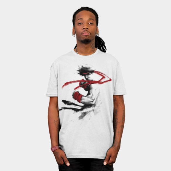 Childhood Hero T-shirt Design by charlo man tee