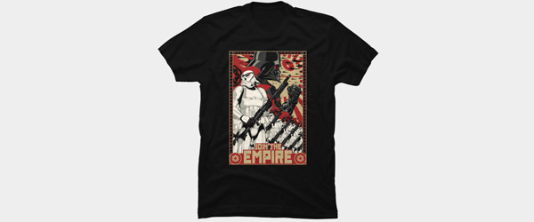 Empire Propaganda T-shirt Design by StarWars t-shirt tee main image