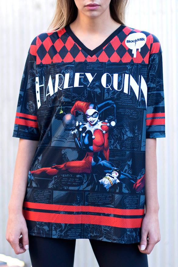 HARLEY QUINN TOUCHDOWN T-shirt Design  front