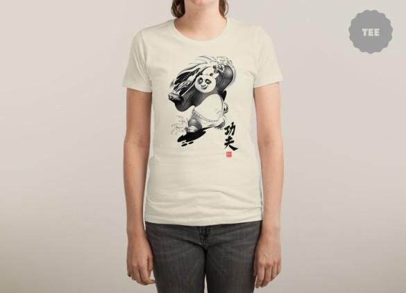 KUNG FU POWER T-shirt Design by Tulio Barrios del Carpio woman