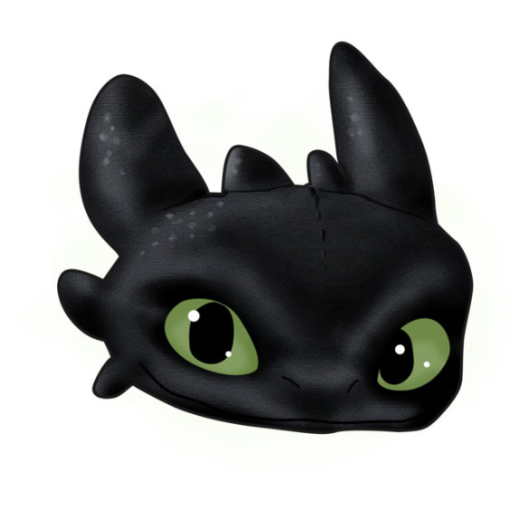 Toothless T-shirt Design by  joysapphire design