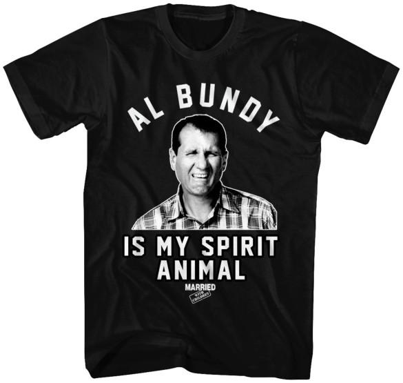 Al Bundy Spirit Animal T-Shirt Design