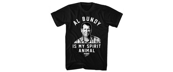 Al Bundy Spirit Animal T-Shirt Design main image