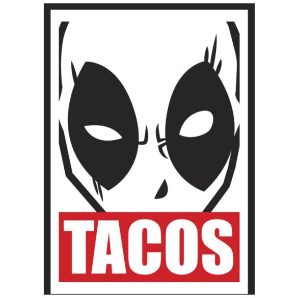 Deadpool Tacos T-shirt Design by Marvel