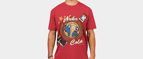 Drink Nuka Cola! T-shirt Design by 0Coconut man main image