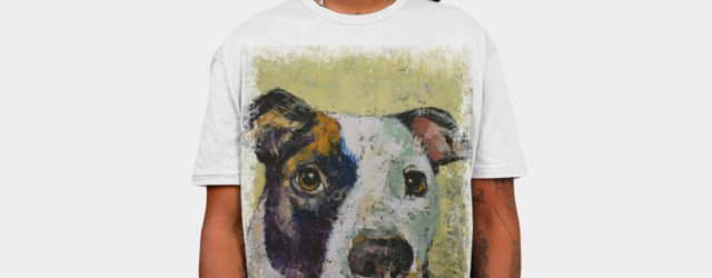 PIT BULL T-shirt Design by creese man