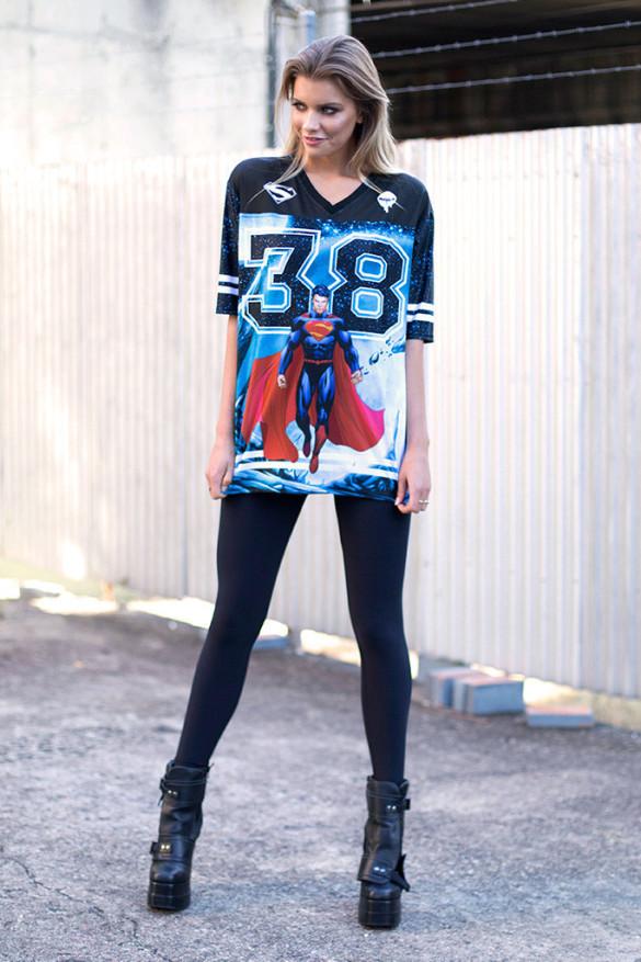SUPERMAN TOUCHDOWN - LIMITED T-shirt Design