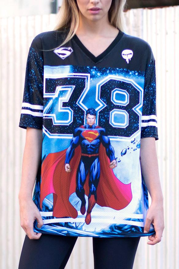 SUPERMAN TOUCHDOWN - LIMITED T-shirt Design front close