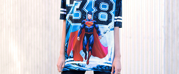 SUPERMAN TOUCHDOWN - LIMITED T-shirt Design main image
