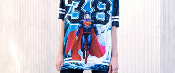 SUPERMAN TOUCHDOWN - LIMITED T-shirt Design main image