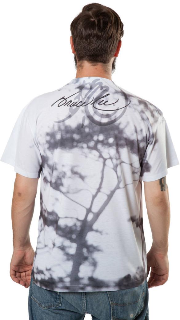 Sublimation Bruce Lee T-Shirt Design back