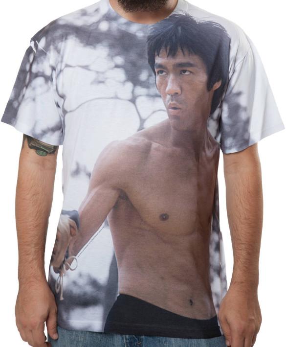 Sublimation Bruce Lee T-Shirt Design front
