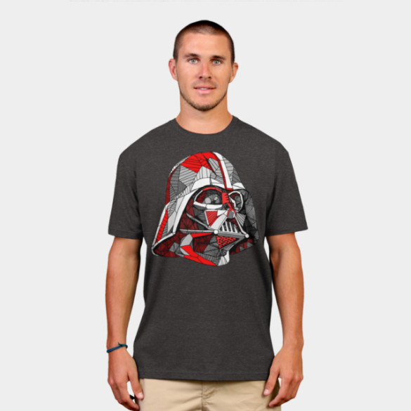 Abstract Vader T-shirt Design by StarWars man