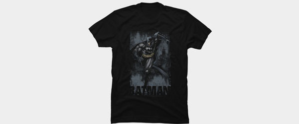 Batman to the Rescue T-shirt Design by DCComics main image