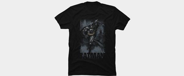 Batman to the Rescue T-shirt Design by DCComics main image