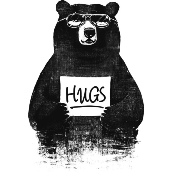 HUGS T-shirt Design by gloopz design