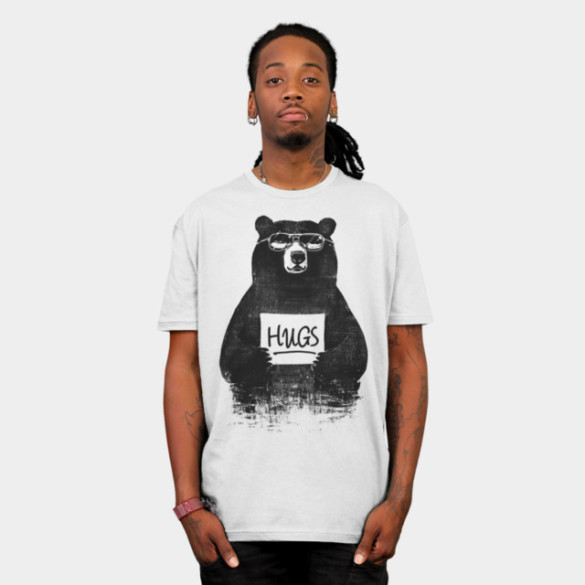HUGS T-shirt Design by gloopz man