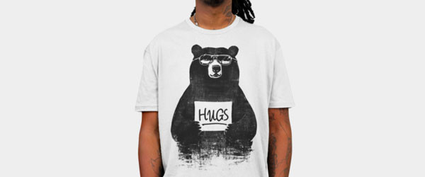HUGS T-shirt Design by gloopz manin image