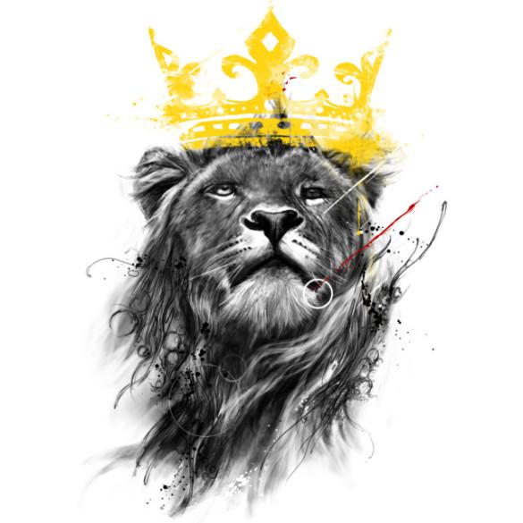 No King T-shirt Design by kdeuce main image