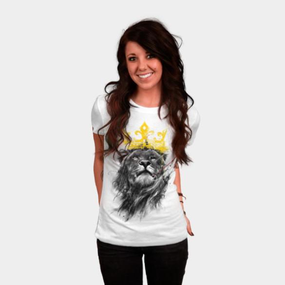 No King T-shirt Design by kdeuce woman