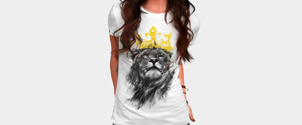 No King T-shirt Design by kdeuce woman main image